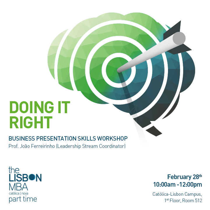 Doing it Right - Business Presentation Skills Workshop
