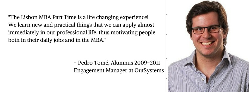 Alumni Testimonial - Applications for The Lisbon MBA Part Time