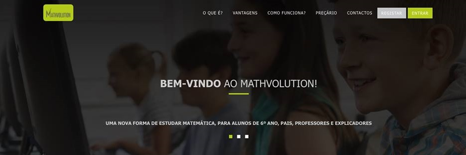 Mathvolution, an online platform to help students learn mathematics in a simple and personalized way
