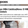 """In portuguese newspaper """"Jornal de Negócios"""", an article about our programs – the global leaders' MBA"""